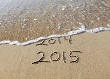 drawn-sand-beach-new-year-43591827